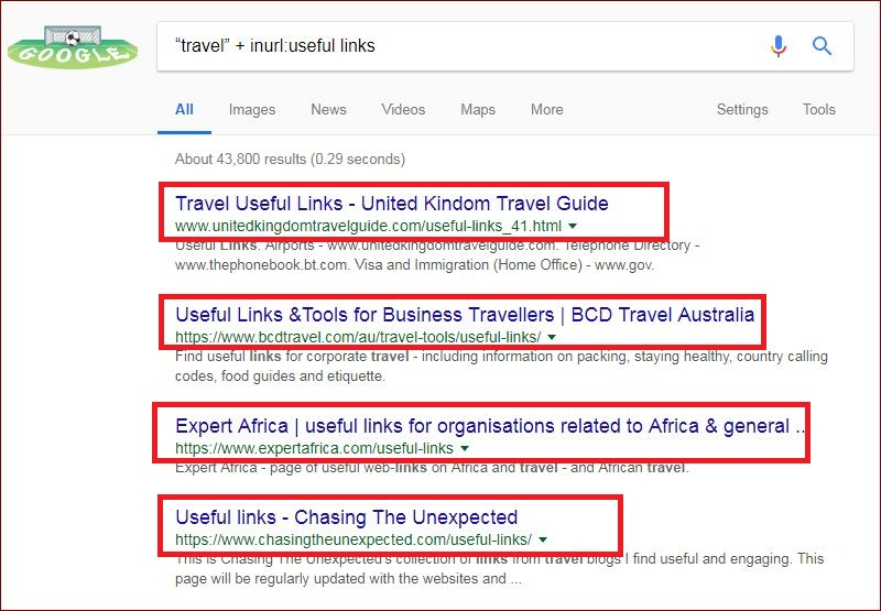 Resource page link building for SEO