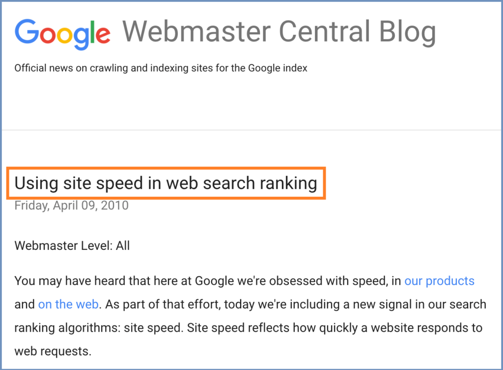 sites-loading-speed-is-ranking-factor