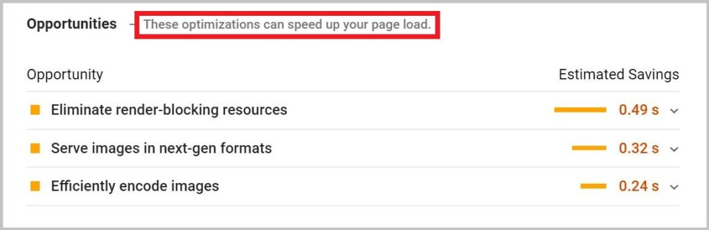 These optimizations can speed up your page load