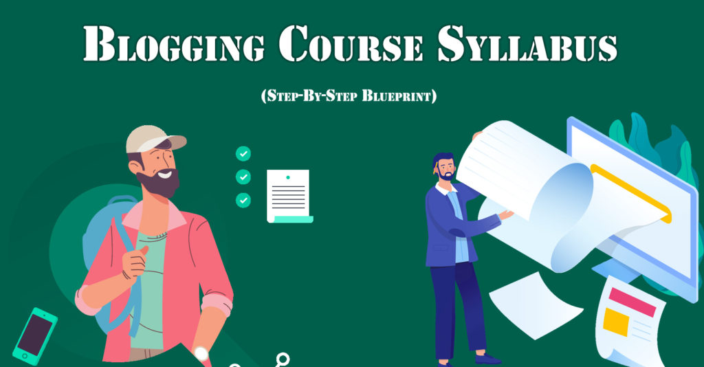 blogging course syllabus Kolkata